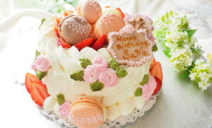 デコレーションケーキ 江別 お菓子教室 エピファニー